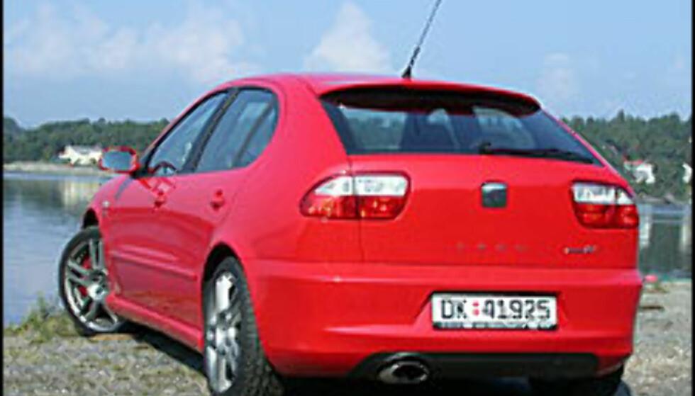 Røde biler tryggest