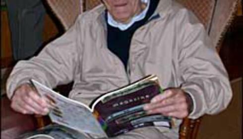 Duick Foeke Zandsta i organisasjonen som jobber for å ivareta den gamle møllen.