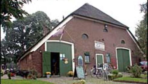 De Tovenaarsberg var opprinnelig en gård, og hotellrommene ligger i det som var stallen.