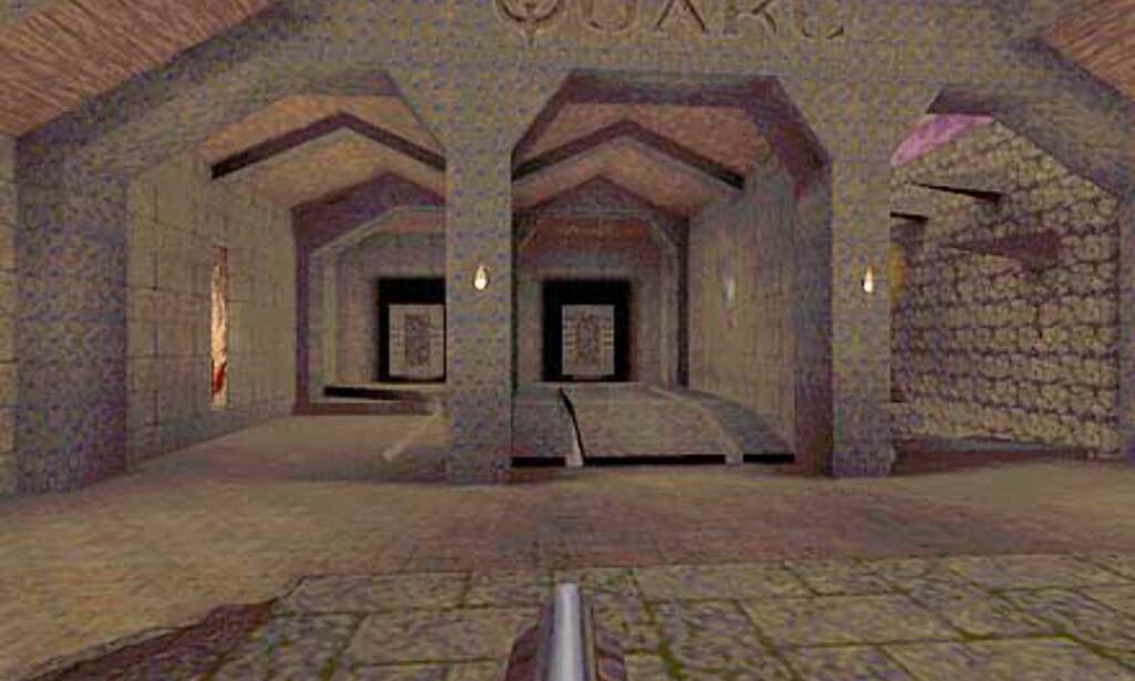 Slik begynner det originale spillet - uten modifikasjoner