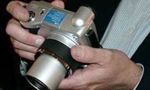 HP Photosmart 850 kan skilte med et kraftig 8x optisk zoom-objektiv