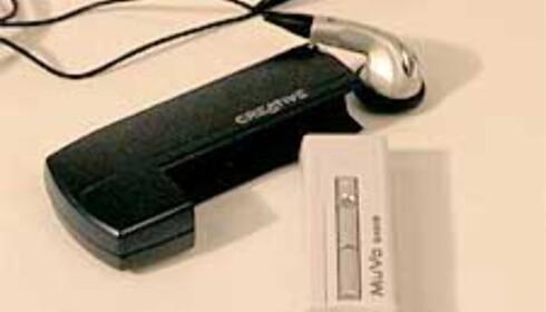 Creative MuVo – Søt og liten MP3-spiller