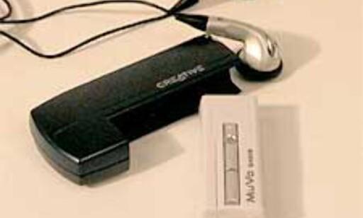 image: Creative MuVo – Søt og liten MP3-spiller