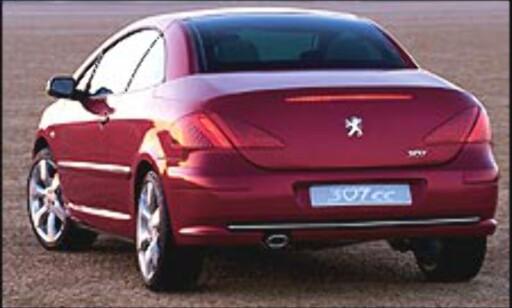 image: Ny Peugeot-kabriolet på vei