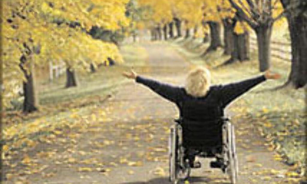 Ferie med rullestol krever ekstra planlegging.<br /> <I>Foto: Turismforalla.se/Semesterguiden 2003</I>