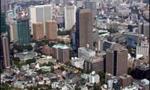 Tokyo er sammen med Osaka verdens dyreste by. Foto: Jan Harry Svendsen