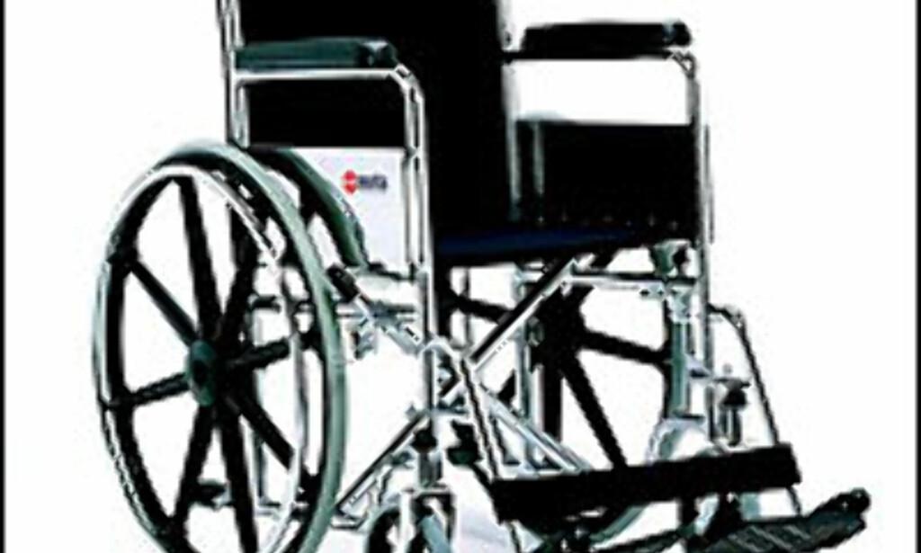 Med rullestol er det nødvendig med ekstra plass - også på sydenferien.
