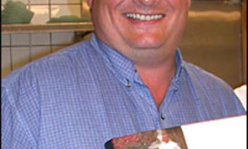 Bent Stiansen var medlem av kokkelandslaget i seks år. I 1993 vant han gull i Bucuse d\'Or. Foto: Inga Holst