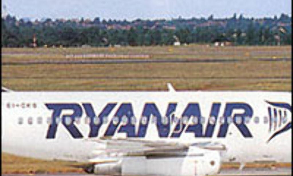 Finnes Ryaairs gratisbilletter?<br /> <I>Foto: Ryanair.com</I> Foto: Ryanair