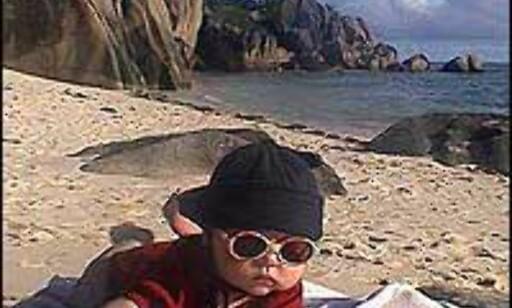 Til og med baby kan finne sitt paradis på Seychellene. Foto: Børre Opsahl