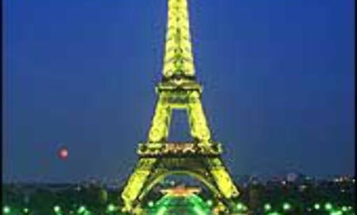 Eiffeltårnet er muligens det mest kjente byggverket i Europa.