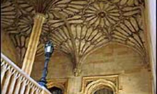 I Oxfords historiske bygninger kan du følge i Inspektør Morses fotspor. Foto: Jorge Tutor