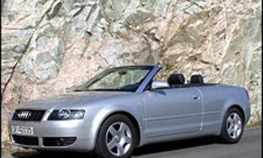 image: TEST: Audi A4 2.4 kabriolet
