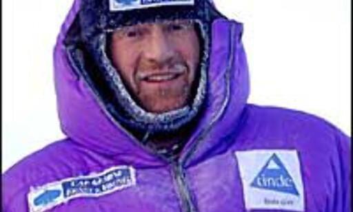 Børge Ousland er vant til kulde. Foto: Børge Ousland Foto: Børge Ousland