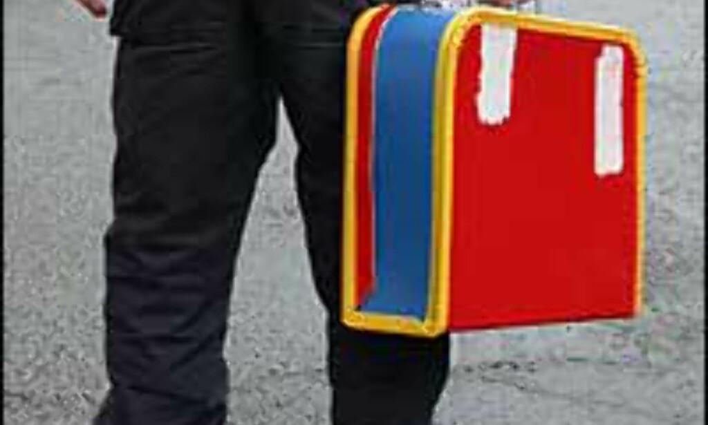 UNG FLYPASSASJER: Så mange som 15.000 barn reiser jevnlig alene i forbindelse med foreldresamvær. Mange av dem reiser med fly.<br /> <I>Foto: Inga Ragnhild Holst</I>
