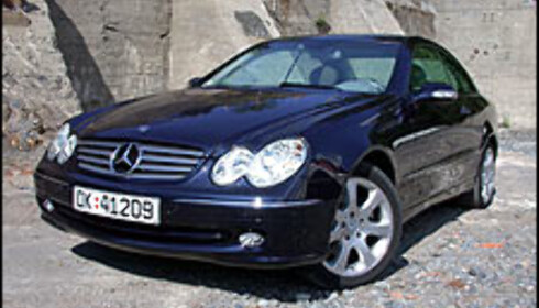 TEST: Mercedes CLK 240