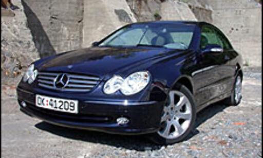 image: TEST: Mercedes CLK 240
