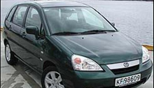 Suzuki Liana 1.6 4WD<br /> Pris i Norge: 237.800<br /> Pris i Sverige: 193.257<br /> Differanse: 44.543