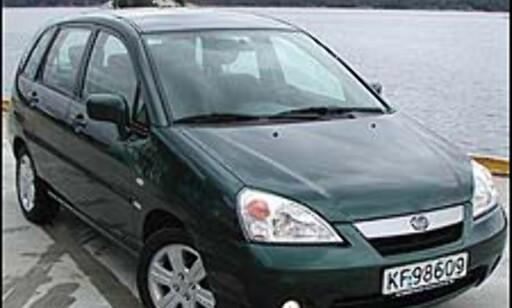 Suzuki Liana 1.6 4WD Pris i Norge: 237.800 Pris i Sverige: 193.257 Differanse: 44.543