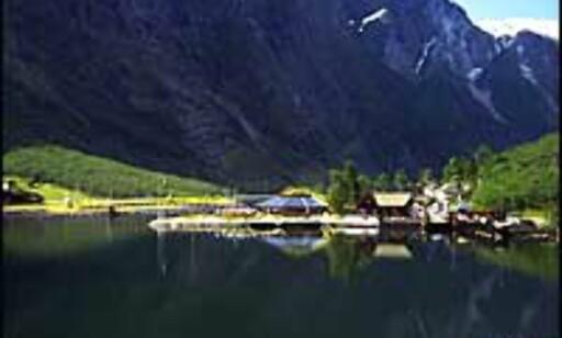 GUDVANGEN HAVN: Få med deg cruise på Sognefjorden.