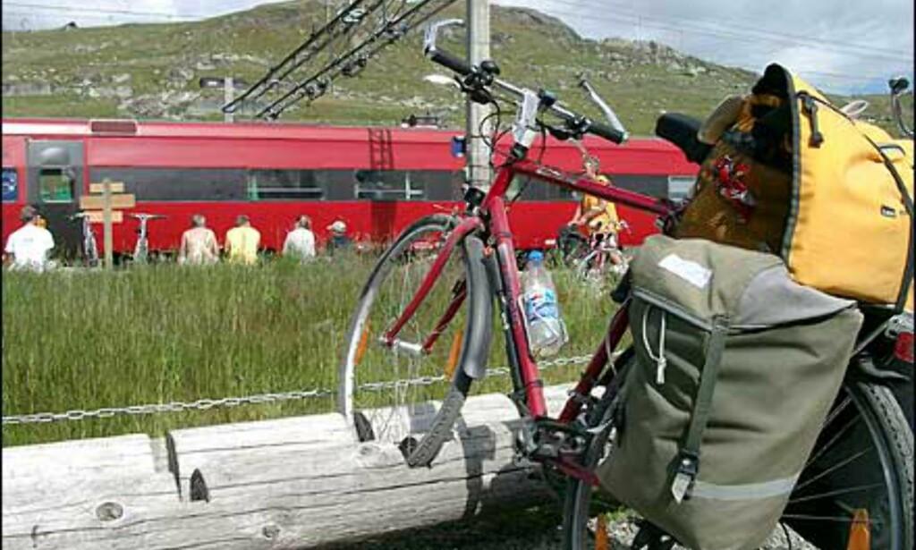 image: Nasjonalromantikk fra sykkelsetet