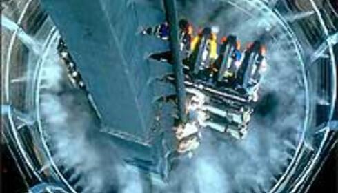 En av de mest heftige i Europa mener Discovery Travel Channel om Oblivion. Foto: Altontowers.com