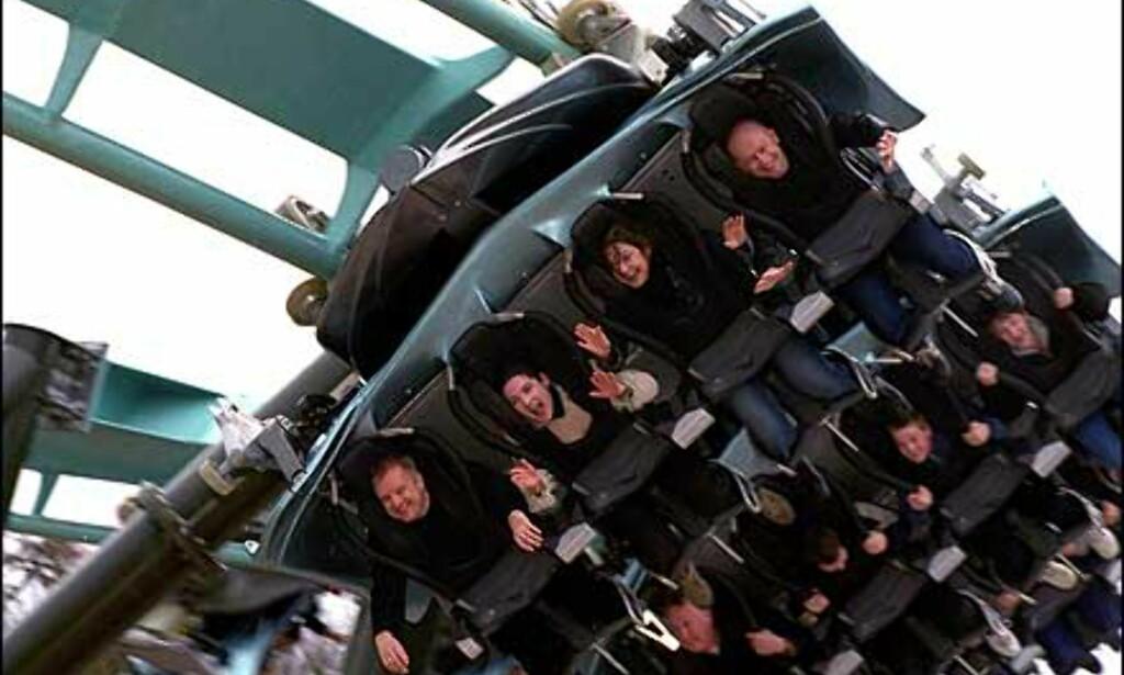 Fri flukt hos Alton Towers. Foto: Altontowers.com