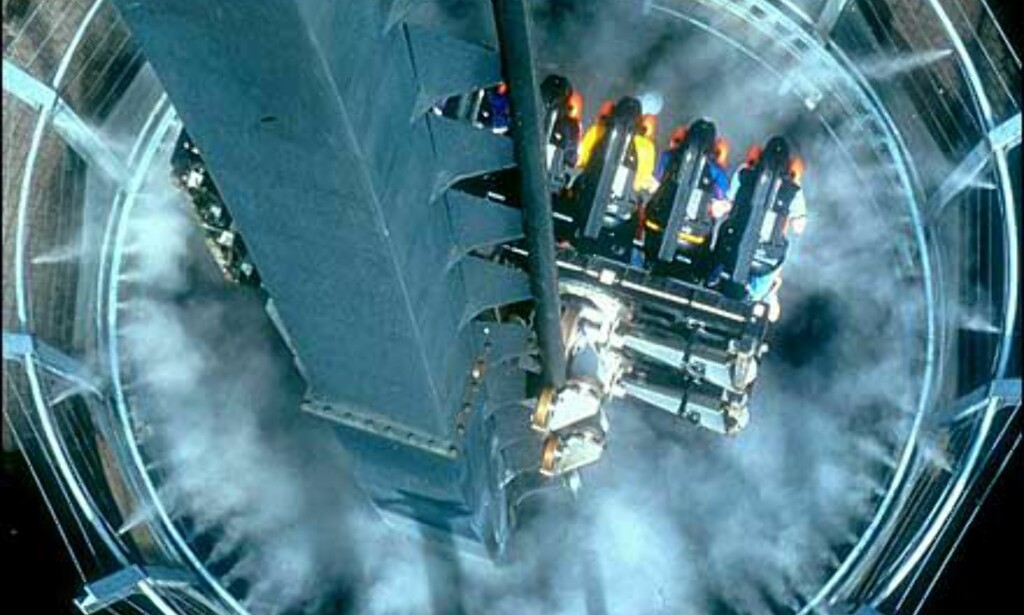 Rett ned i avgrunnen med Oblivion. Foto: Altontowers.com