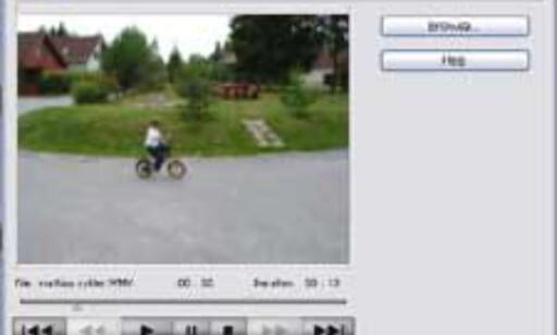 Her kopieres stillbilder fra en videosnutt