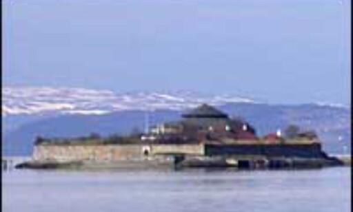 Munkholmen utenfor Trondheim.