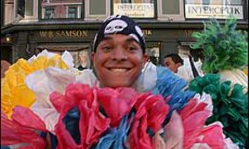 Miguel Angel Ramirez setter byen på hodet. Foto: Inga Holst