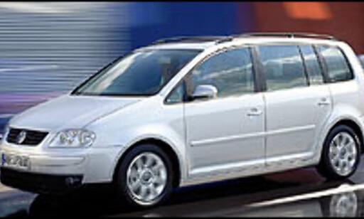 image: Liten flerbruksbil fra VW