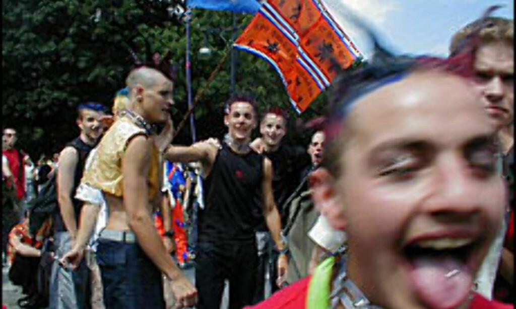 LOVE PARADE: Gatefesten i Berlin blir arrangert for 13. gang i år.<br /> <I>Foto: Loveparade.det</I>