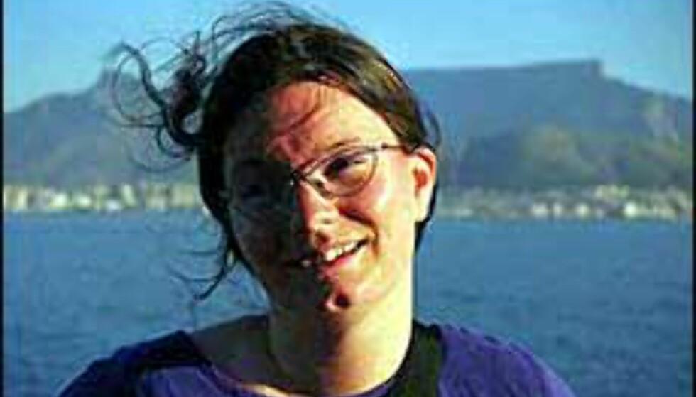 Siri Johnsen (30) har skrevet hovedfagsoppgave om backpackere. Foto: Live Marstein
