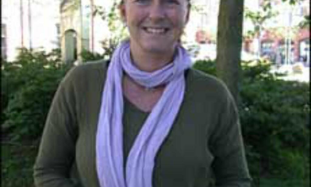 - Do as the locals, oppfordrer Solveig Busk Halvorsen.<br /> <I>Foto: Inga Ragnhild Holst</I>