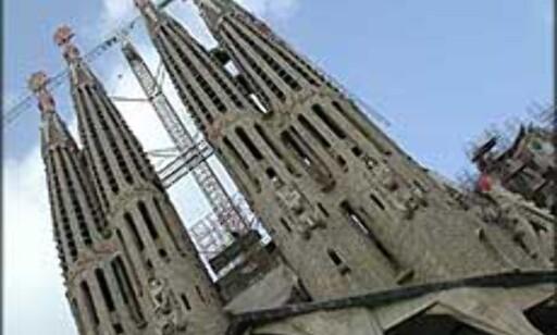 STORBY: Barcelona, Praha, Roma, Paris og London er de storbyene som er mest besøkt denne påsken. Her fra Gaudís Sagrada Familia i Barcelona. Foto: Inga Ragnhild Holst Foto: Inga Holst