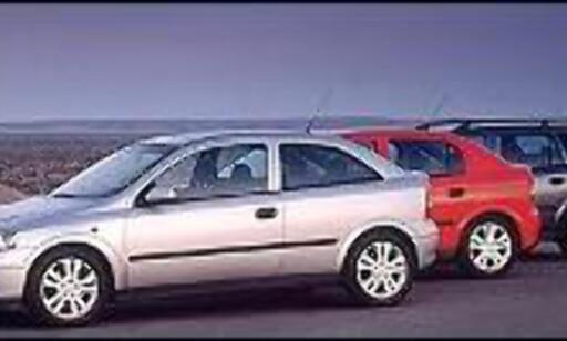 SVIKTENDE POPULARITET: Opel Astra er ikke lenger blant Norges ti mest populære biler.