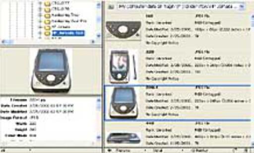 File Browser (klikk for større utgave)