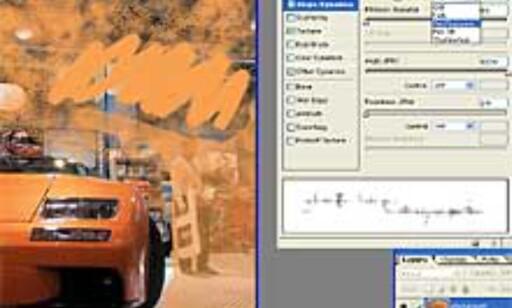 De forskjellige maleverktøyene (klikk for større utgave)