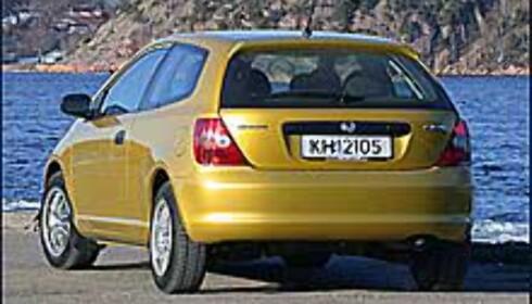 TEST: Honda Civic 1,4iS
