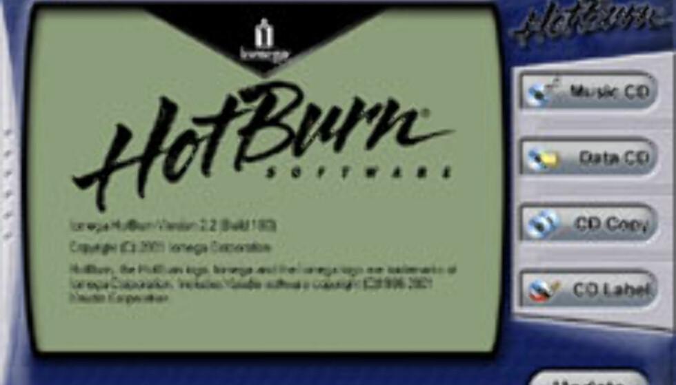 Iomega HotBurn