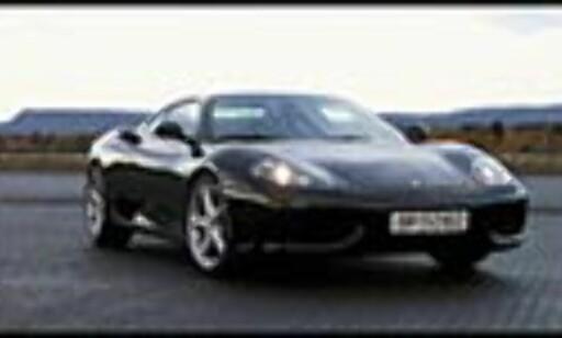 Ferrari - en av de vanskelige bilene å forsikre i Norge.