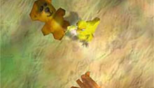Tyke liker å leke med teddybjørner