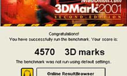 image: Ny versjon av 3DMark 2001 klar