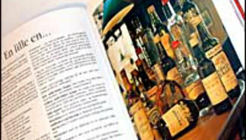 Du kan drikke en lille en til alt. Boken gir en innføring i hvilken som passer best til hva.