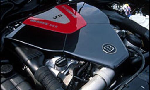 V8 CDI, 330 hestekrefter.