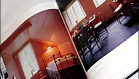 Boken inneholder mange og flotte bilder, av interiør og mat.