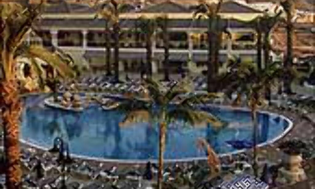 Det er godt med bassenger på Kanariøyenes hoteller.