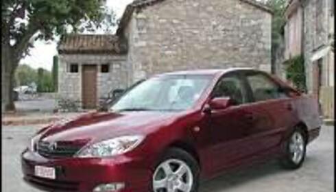 Ny Camry: Mye bil for pengene