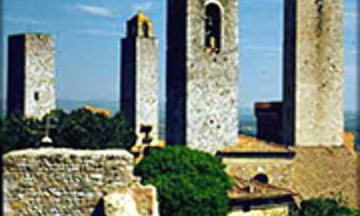 Tårnene i San Gimignano.  Foto: Jorge Tutor